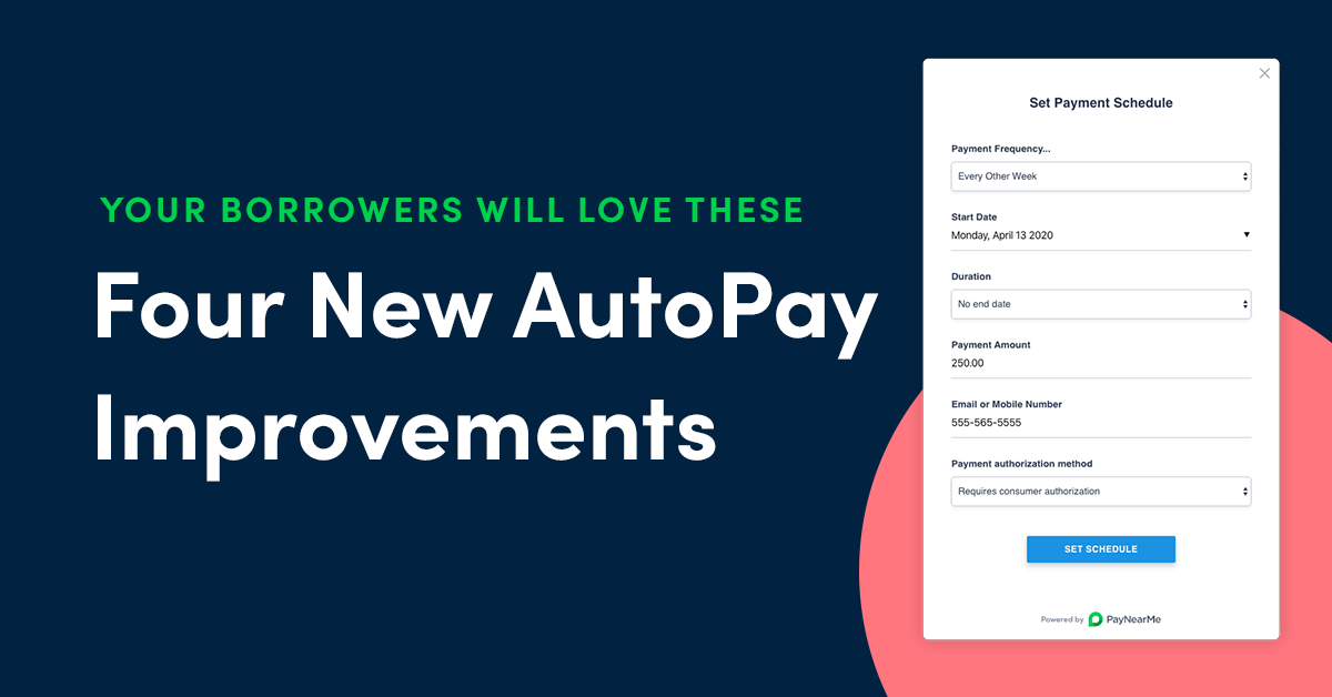 Four New Automatic Bill Pay Improvements Your Borrowers Will Love