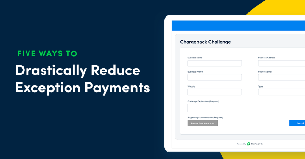 exception payments