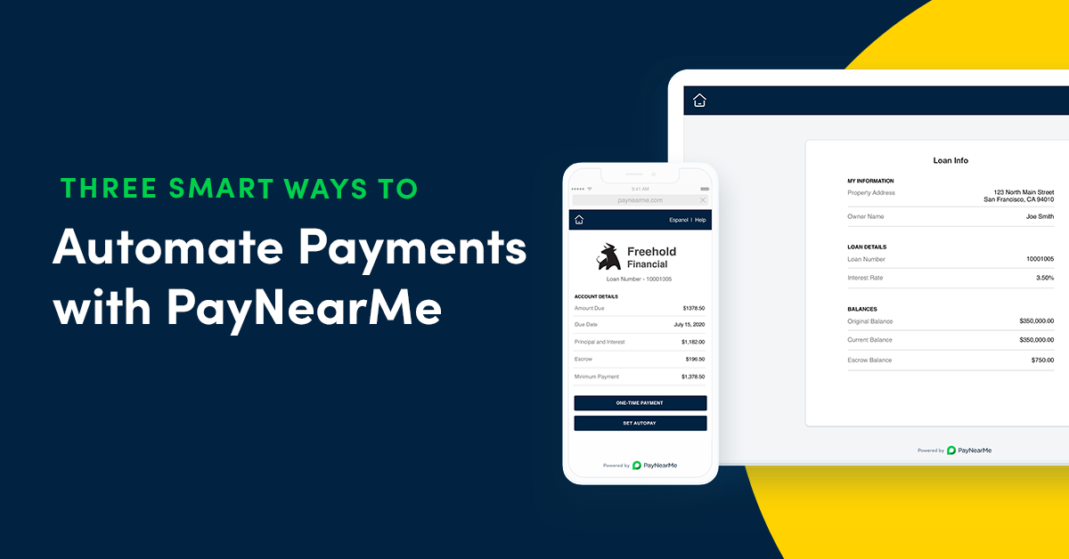 Three Smart Ways to Automate Payments with PayNearMe