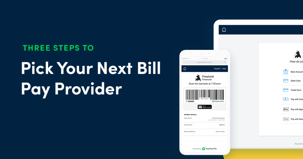 bill pay provider buyers guide
