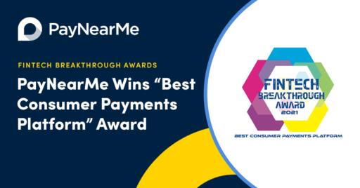 best consumer payments platform award