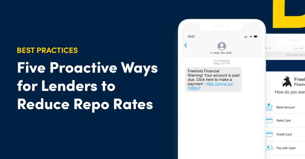reduce repossession rates